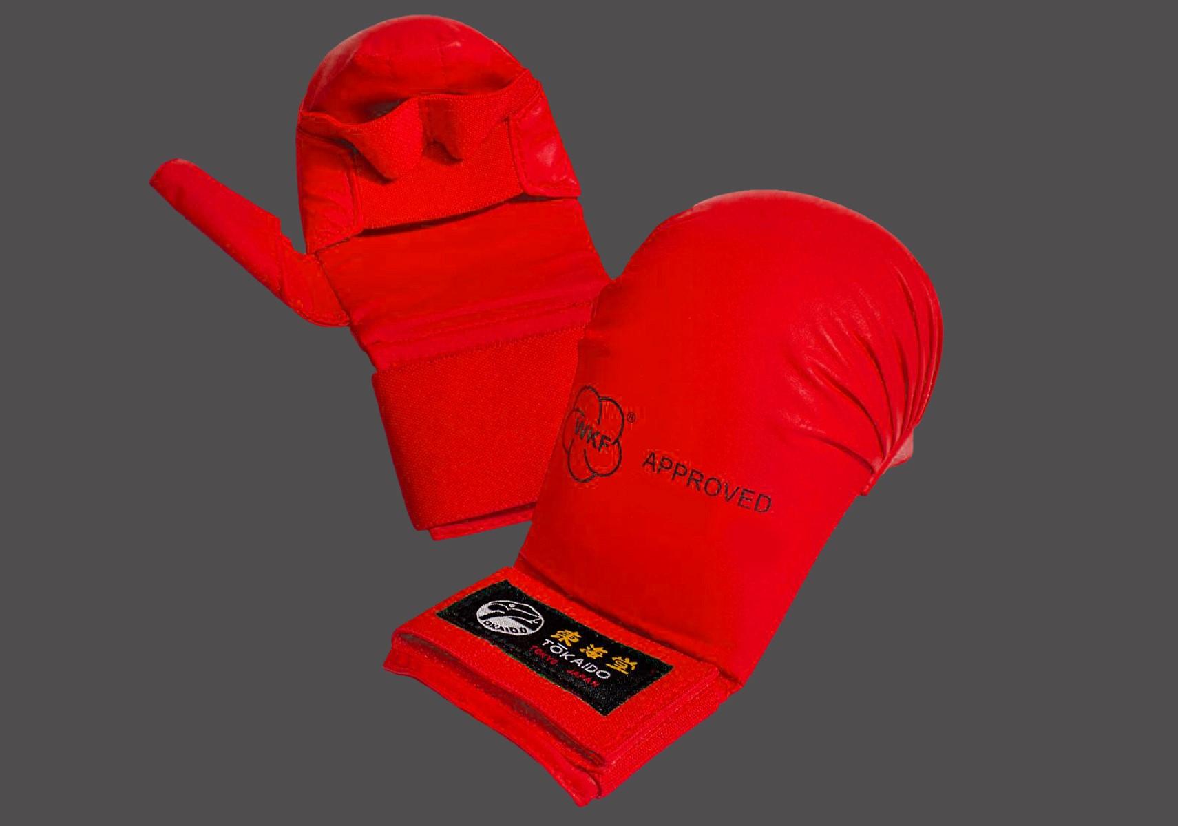 Red Kumite Tokaido Gloves